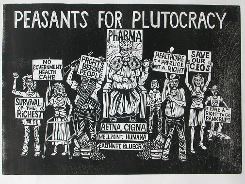 Peasants for Plutocracy by Michael Dal Cerro505x379
