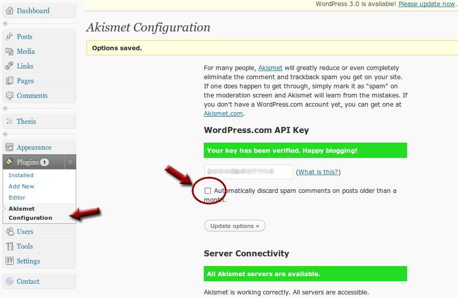 How to Configure Akismet