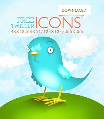 Beautiful Twitter Bird Icons