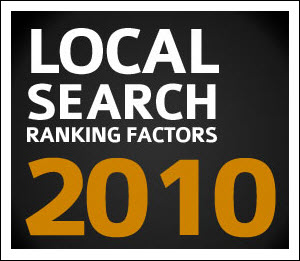 Local Search Ranking Factors 2010 Research