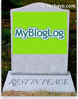 Yahoo MyBlogLog Rest-In-Peace