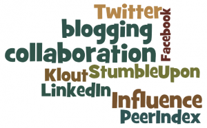 Blogging Collaboration Wordle