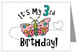 Blog third birthday