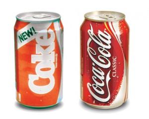Rebranded Coke