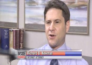 Richard B Newman Interviewed on Inside Edition