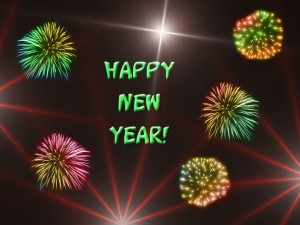 Happy New Year 2010 - image credit ToToWeb