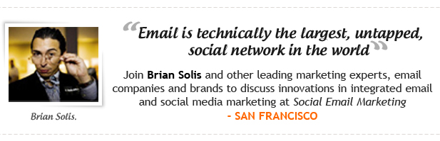 Brian Solis Integrating Email Marketing and Social Media