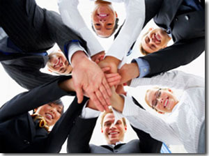 Business People Collaborating Image