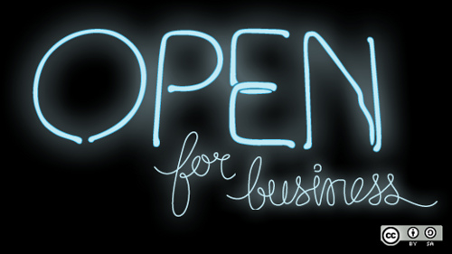 Open for Business - Blog Consulting Services