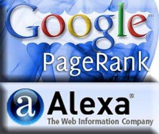Google Alexa Pagerank
