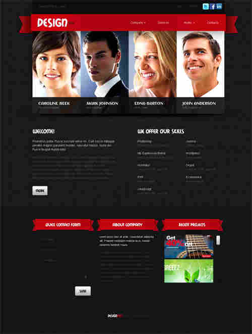 Design dep WordPress theme