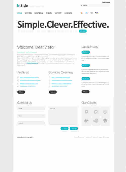 InSlide WordPress theme