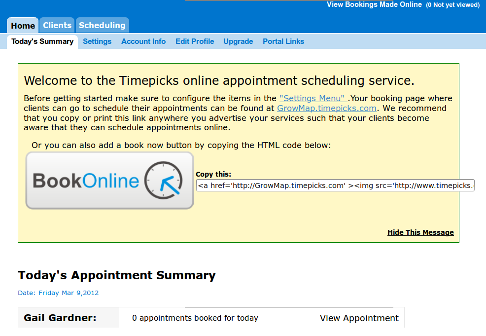 Online Appointment Scheduling Book Online Solution